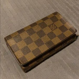Louis Vuitton Damier Wallet